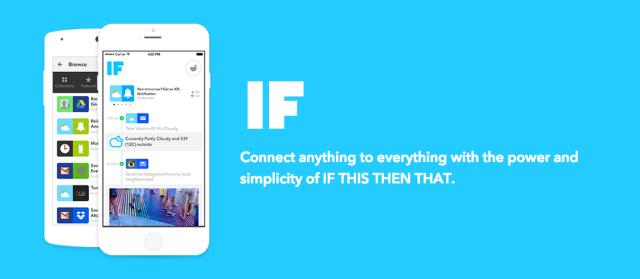 IF by IFTTTのイメージ画像