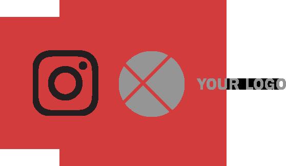 インスタグラム ロゴ 配置 良くない例2