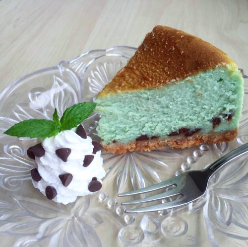 うしくろさん作のチーズケーキ