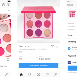 Instagram内でショッピング完結が現実に?「Checkout」機能とは